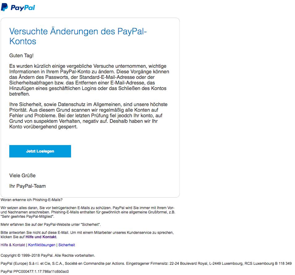 2018-08-17 PayPal Phishing1