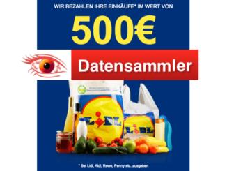 2018-08-20 Datensammler 500 Euro Lidl Gutschein_logo