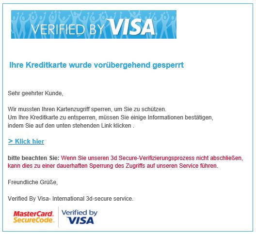 2018-08-21 Phishing Visa