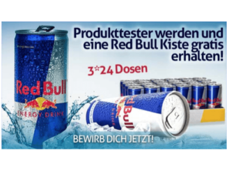 2018-08-24 E-Mail im Namen von Red Bull gratis Energy Drink Produkttester