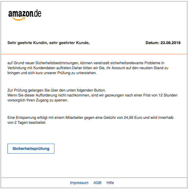 2018-08-24 Phishing Amazon