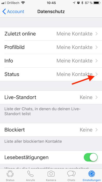 Datenschutz So Schützen Sie Ihre Daten Bei Whatsapp