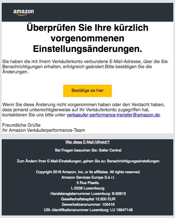 2018-09-19 Amazon Seller Phishing