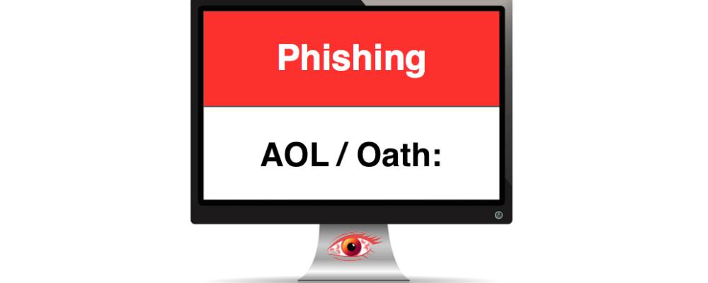 AOL Phishing: Gefälschte E-Mails im Namen von AOL/Oath: im Überblick