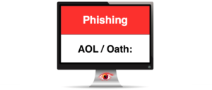AOL OATH Spam Phishing Mail Warnung