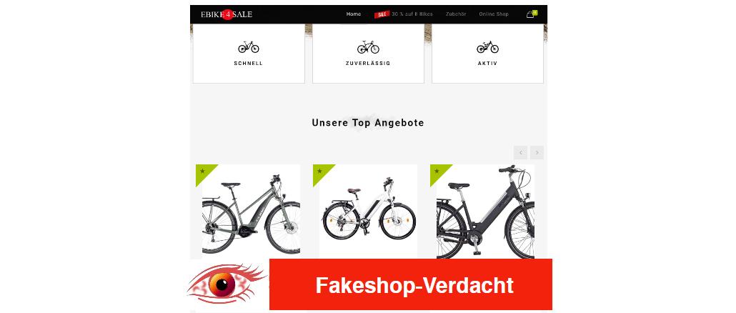 Ebike4sale - Fakeshop