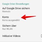 WhatsApp Anleitung Android Backup einrichten 4