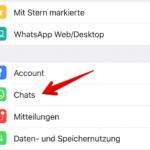 WhatsApp Anleitung iPhone Backup einrichten 2