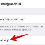 WhatsApp Anleitung iPhone Backup einrichten 3