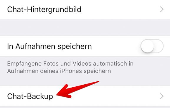 whatsapp auf neuem iphone einrichten