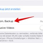 WhatsApp Anleitung iPhone Backup einrichten 4