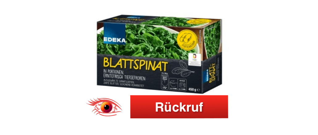 2018-09-03 Rückruf Edeka Blattspinat