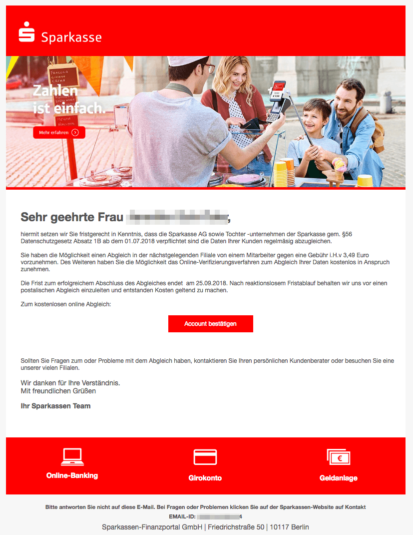 2018-09-10 Sparkasse Phishing2