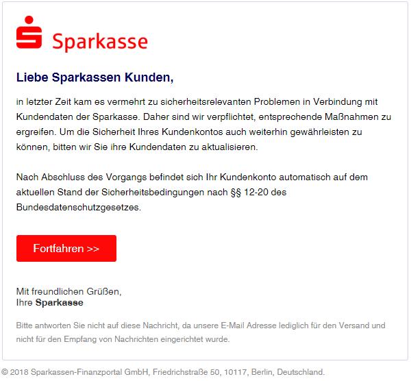 2018-09-16 Sparkassen Phishing