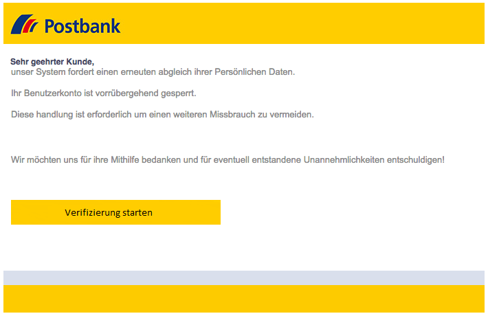 2018-09-17 Postbank Phishing