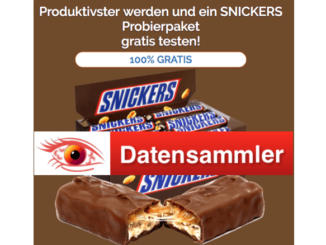 2018-09-24 Snickers Spam Mail Produkttest_Logo