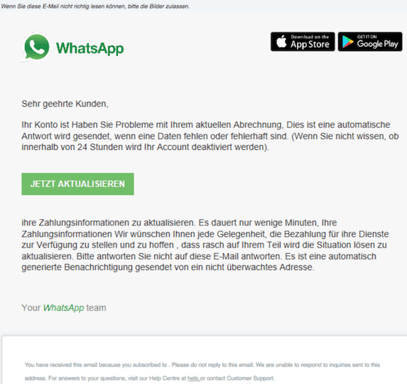 2018-10-27 WhatsApp Phishing