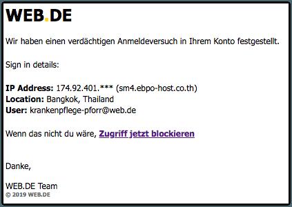 2019-01-31 Phishing WebDE
