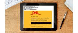 2019-03-29 DHL Spam-Mail Fake Auftragsbestaetigung