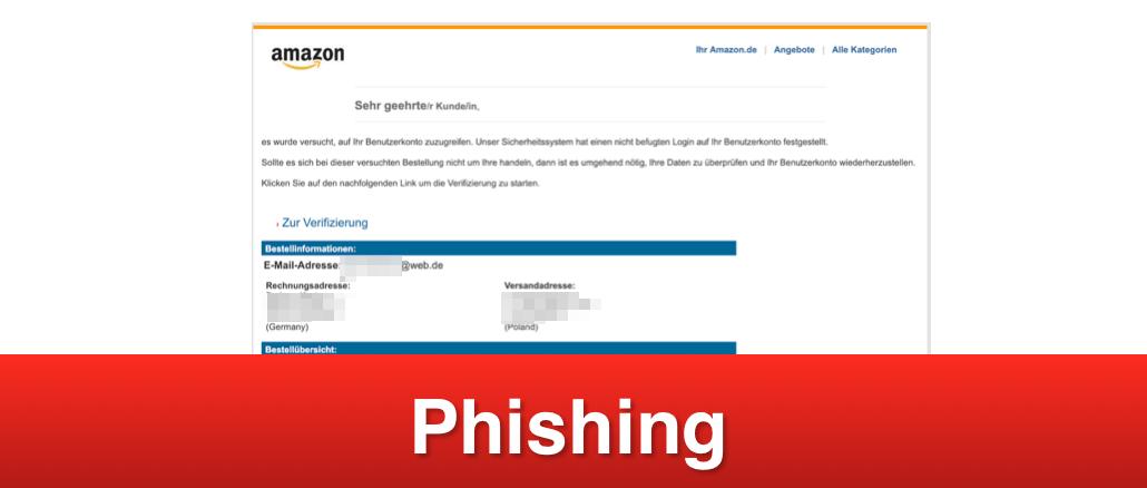 2019-05-30 Amazon Phishing-Mail Ihre Bestellung uebe