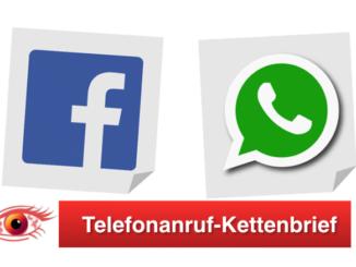 Facebook WhatsApp Kettenbrief Spam Telefonanruf Hacker Rückruf