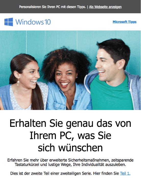 Microsoft Mail Tipps Teil 2 – Sicherheit, Tastaturkürzel und Ausdrücke