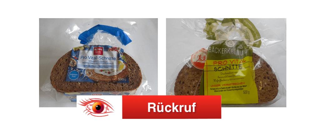 Rückruf Brote Glockenbrot Bäckerei GmbH
