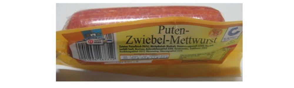 Netto Marken-Discount ruft Ostermeier Puten-Zwiebel-Mettwurst zurück