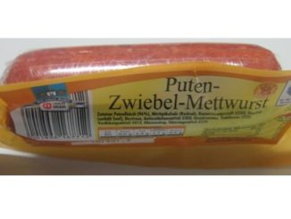 Rückruf Marken Netto-Discount Ostermeier Puten-Zwiebel-Mettwurst