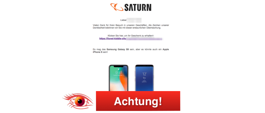 Saturn Fake Mail_Logo