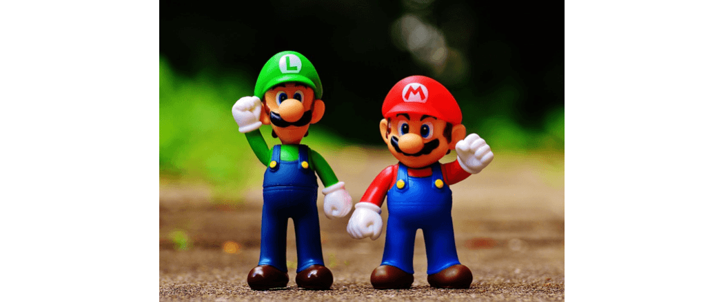 Symbolbild Videospiel Super Mario