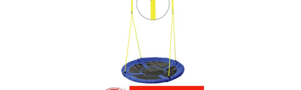 Aldi Süd: Aufruf zum Austausch des Seilsystemes bei Nestschaukel – Verletzungsgefahr