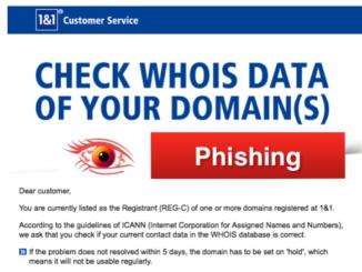2018-10-15 1und1 Phishing