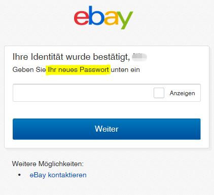2018-10-18 eBay Passwort zurücksetzen