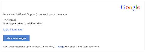 2018-10-22 Gmail Phishing