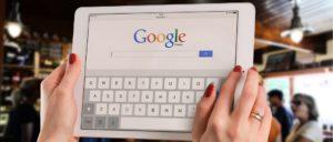 2018-10-24 Google Symbolbild Suchmaschine Tablet
