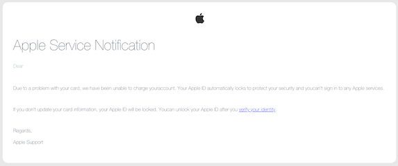 2018-10-27 Apple Phishing
