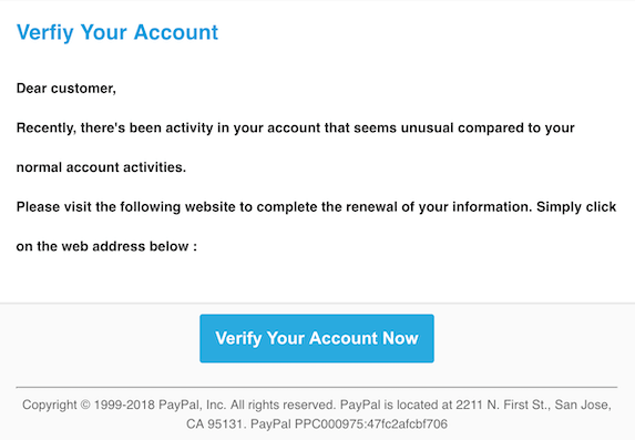 2018-10-28 PayPal Phishing