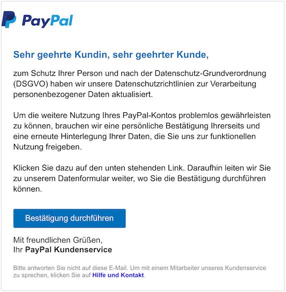 2018-10-31 PayPal Phishing