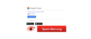 2018-11-01 Google Spam Google Photos