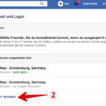 Anleitung Facebook alle ausloggen 2