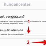 Anleitung web-de Passwort ändern 4