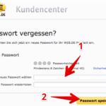 Anleitung web-de Passwort ändern 5