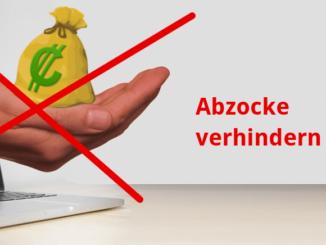 Beispielbild Abzocke Internet