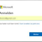 Microsoft zweistufige Authentifizierung