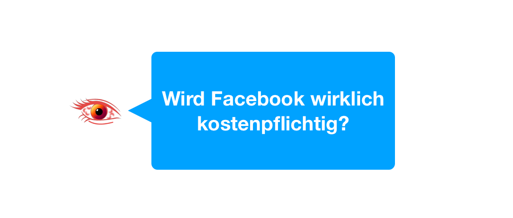 Kettenbrief wird Facebook kostenpflichtig