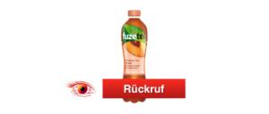 Rückruf Fuze Tea Coca Cola