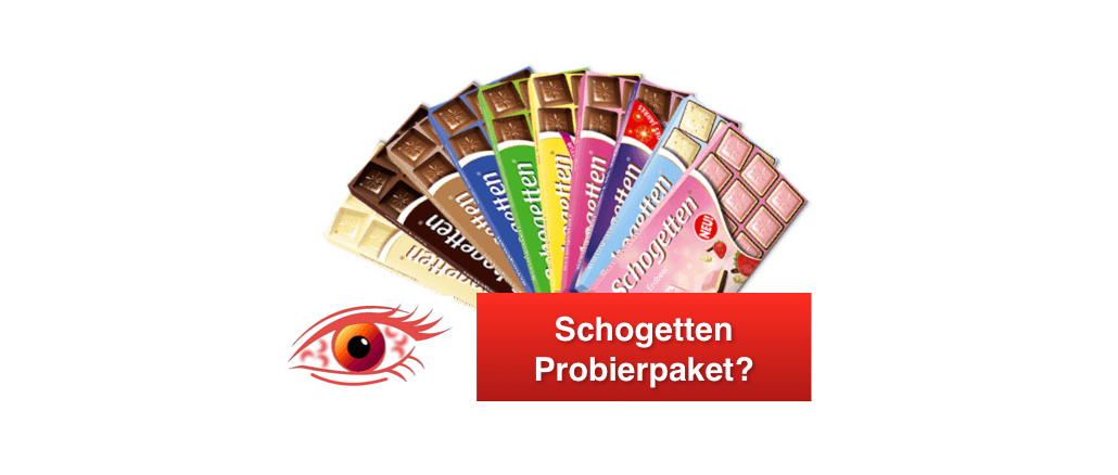 Schogetten Probierpaket Datensammler