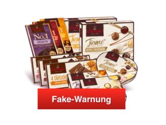 Spam-Mail Sarotti Verkostungspaket Probierpaket