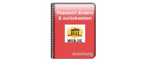 web-de Anleitung Passwort ändern zurücksetzen